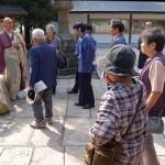 写真:萬松寺奉安所(京丹後市)ご参拝