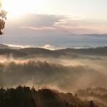写真:雲海
